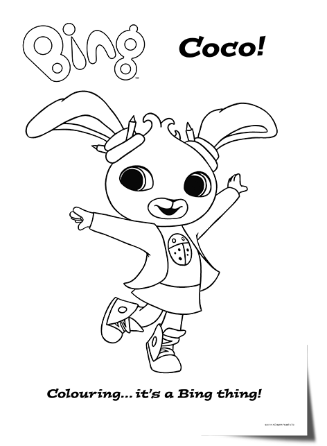 Cbeebies Charators Coloring Pages Cbeebies Colouring Pages